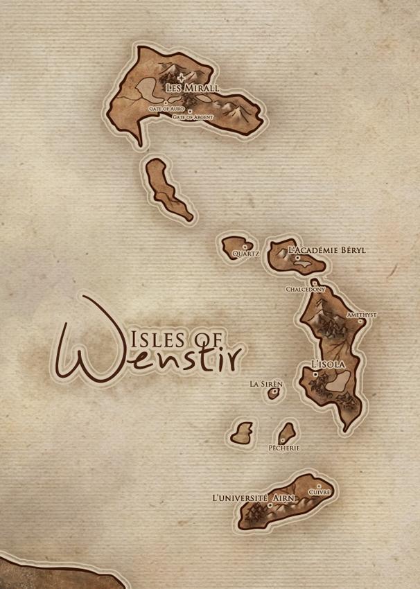 Isles of Wenstir by Kaorien