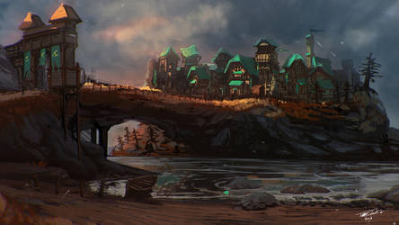 Town of Kharodh by ANIME407