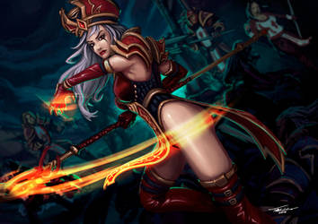 High Inquisitor Whitemane by ANIME407