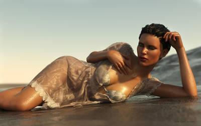 The Beach by janedj