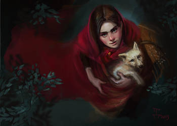 Little Red Riding Hood by Dina-Tukhvatulina