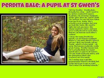 TG Caption: Perdita Bale, a pupil at St Gwen's by p-l-richards