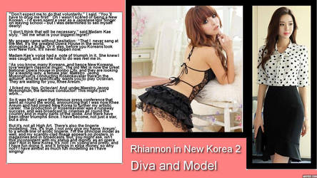 Rhiannon in New Korea 2 - Diva and Model by p-l-richards