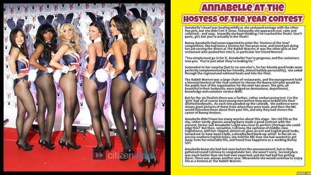 Annabelle at the Hostess of the Year contest by p-l-richards