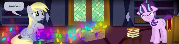 Starlight Glimmer - Huevember: Final Panel - Derpy by moonstrueck