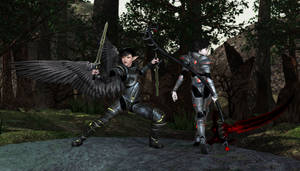 Knights by VelvetyLicks