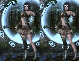 3D Stereogram by VelvetyLicks
