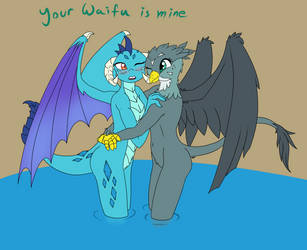 Your Waifu is Mine. by VelvetyLicks