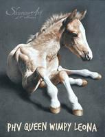 SKYZUNE ART - PHV QUEEN WIMPY LEONA by SKYZUNE-ART