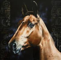 AMBER SILK by SKYZUNE ART by SKYZUNE-CREATION