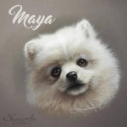MAYA by Skyzune ART by SKYZUNE-CREATION