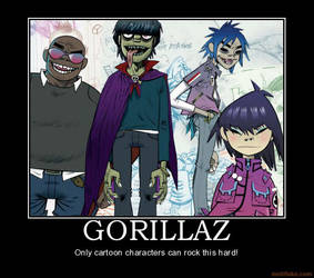 Gorillaz by burter1993