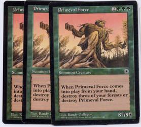 Primeval Force by burter1993