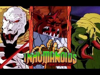 Inhumanoids by burter1993