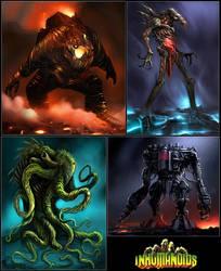 Inhumanoids revisited by burter1993