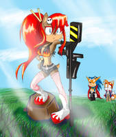 Sonic - Top gurren Lagenn by SonicMiku