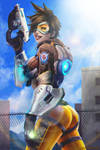 Tracer - Overwatch by Adyon