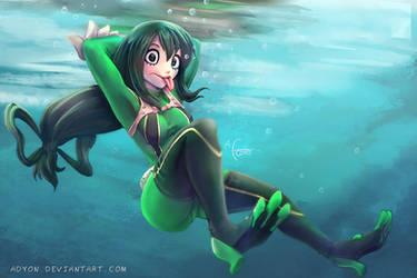 Froppy Underwater by Adyon