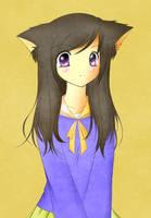 Neko Girl by Slifer2006