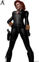 My New Black Widow by MndlessEntertainment
