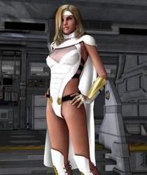 NS90 - White Queen new costume? by MndlessEntertainment