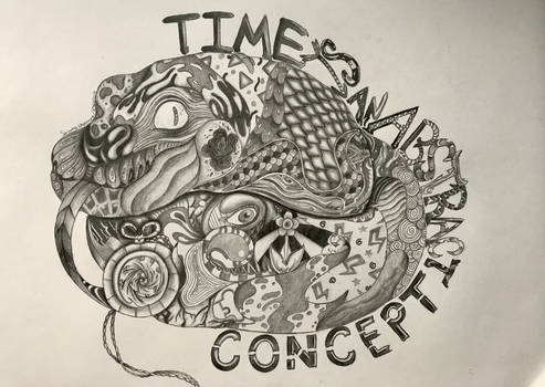 Time is an Abstract Concept by Electrobean