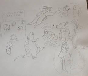 Chibi Assault by DragonBac