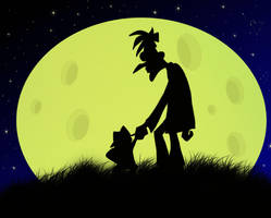 Moon Over Doof by tripperfunster