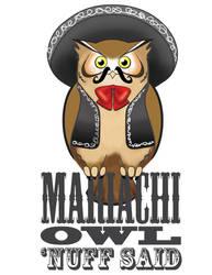 Mariachi Owl by MythicMeztli