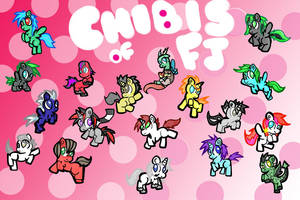 Chibi Pony Dump by izze-bee