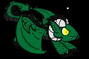 Dragon Pony Hybrid by izze-bee