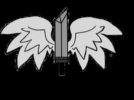 Adoptable Wings Sword Cutie mark by izze-bee