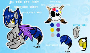 Aoi Character Reference by izze-bee