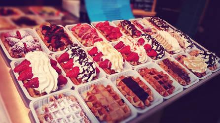 waffles by fairdemon