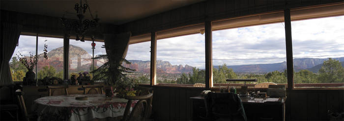 Sedona Dining Room View by eRality