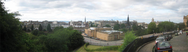Edinburgh Cityscape 3 by eRality