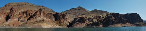 Lake Owyhee Red Cliffs by eRality