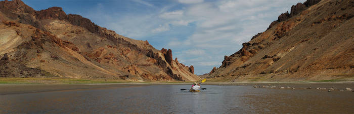Lake Owyhee Kayaking 4 by eRality