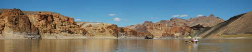 Lake Owyhee Kayaking 1 by eRality