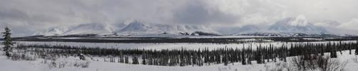 Alaska Range 2 2011-04-08 by eRality