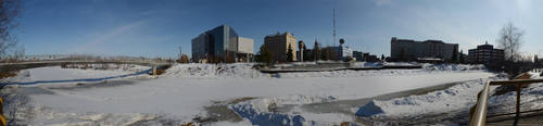 Fairbanks Downtown 2 2011-04-0 by eRality
