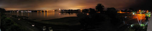 Mission Bay at Night by eRality