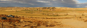 Liberty Butte and Marsing Countryside by eRality