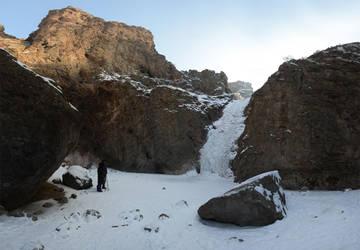 Jump Creek Falls Frozen 2013-01-18 3 by eRality