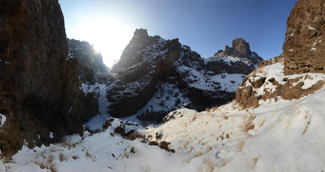 Jump Creek Falls Frozen 2013-01-18 1 by eRality