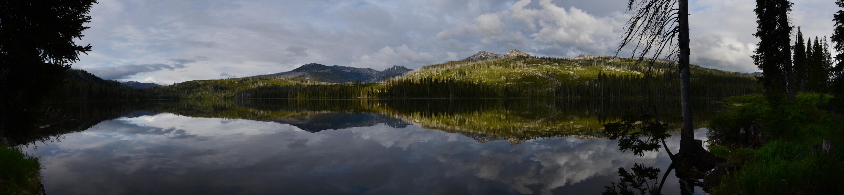 Upper Payette Lake After the Storm by eRality