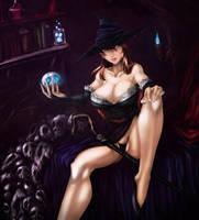 Sorceress by okai418