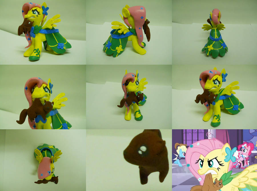 Fluttershy, different angles by EarthenPony