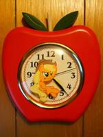 Custom Applejack Clock by EarthenPony