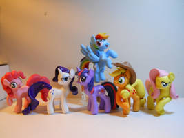 Main Cast Ponies! by EarthenPony